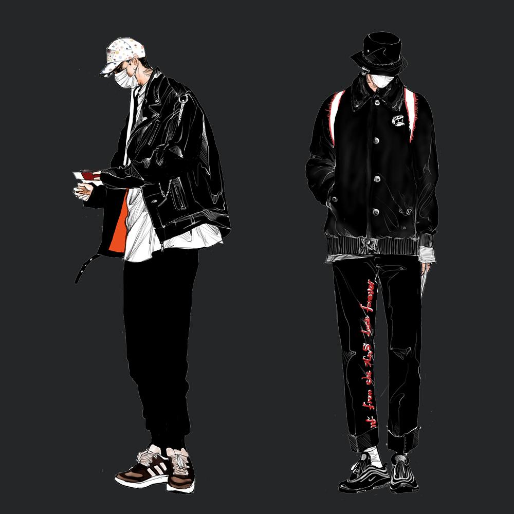 Blackwings男士,核心成员简介-Blackwings官网-男士形象改造-穿搭设计顾问-男生发型-素人爆改