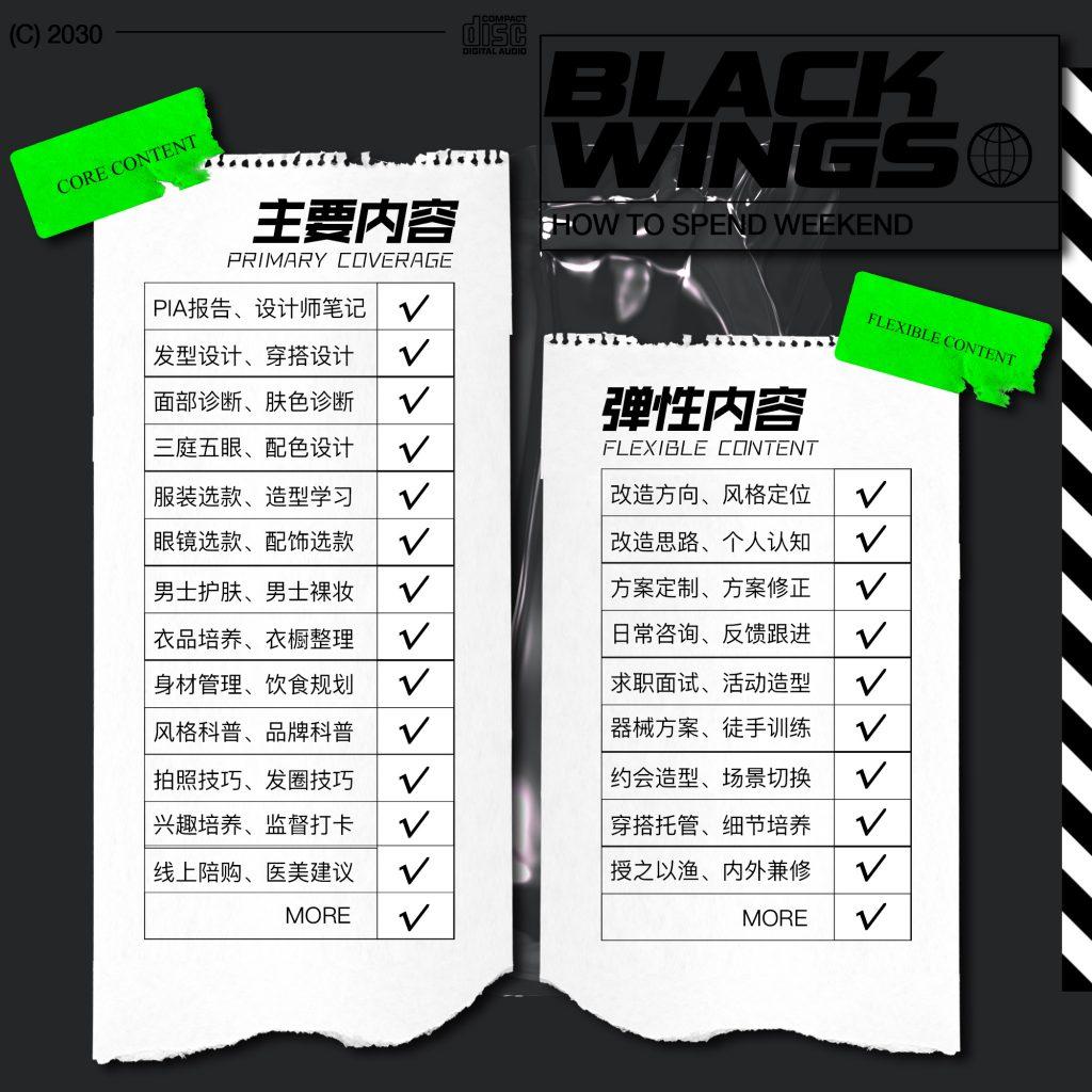 BlackWings线上形象改造服务项目简介-Blackwings官网-男士形象改造-穿搭设计顾问-男生发型-素人爆改