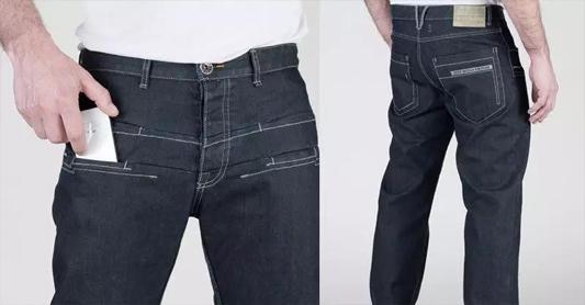 男士牛仔裤搭配